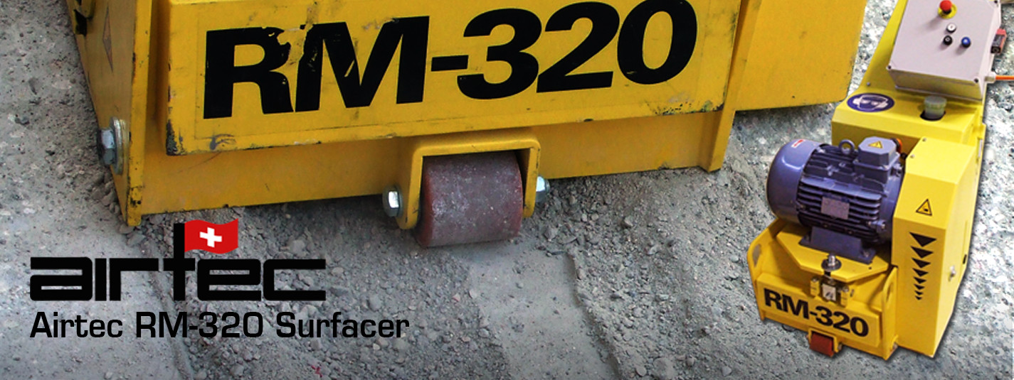 Grind down your toughest surfaces with Airtec's 13-inch profiler